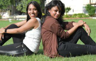 college girls, campus