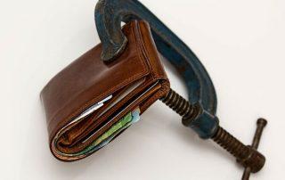 Credit squeeze, wallet