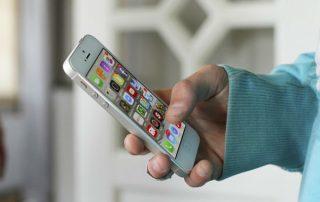 iPhone, App display