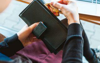 wallet, credit cards