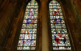 church, windows, religious
