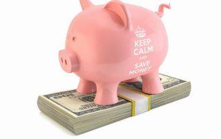 savings account, piggy bank