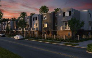 housing, apartment complex, condo, townhouse