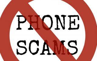 phone scam logo
