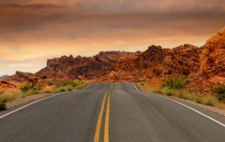 road, car, scenic