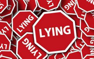 scam, fake, lying
