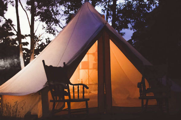 Glamorous camping continues to be a growing travel phenomenon
