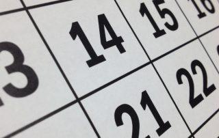 calendar taxes filing