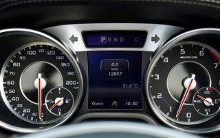 speedometer mileage