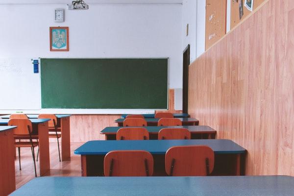 classroom empty students school