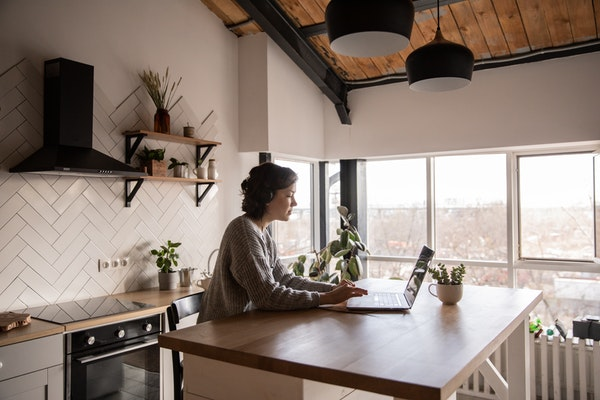 What city leads top 'work from home' U.S. counties list?