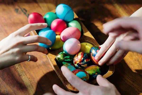 Easter celebrations family
